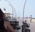 A sunny day in the Tel Aviv Port - Namal Tel Aviv