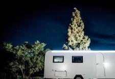 sightseeing in Israel on a caravan or motorhome