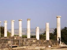 Roman Pillars in Beit She'an Israel