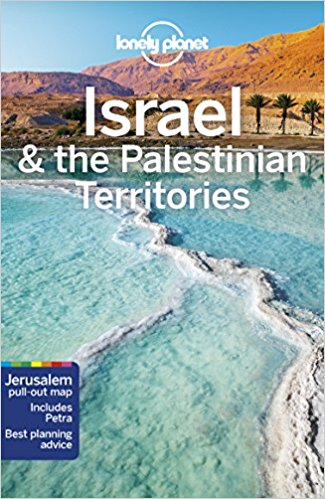 the Lonely Planet Guide on Israel from 2018