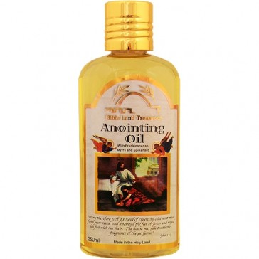 Anointing Oils from the Holy Land