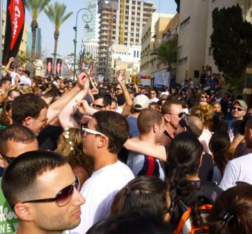 after parties in Tel Aviv during gay pride week