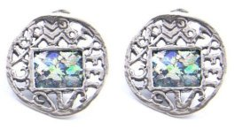 roman glass earrings and other jewelery items are nice souvenirs to bring back from Israel
