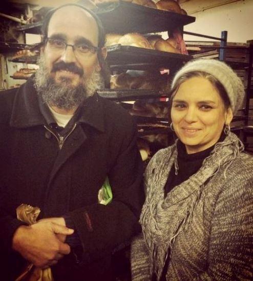 Itzik and Galia Elman Bnei Brak Walking Food Tour at Night