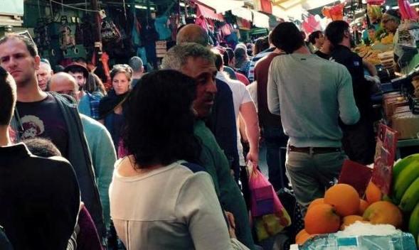 Carmel Market or Shuk HaCarmel