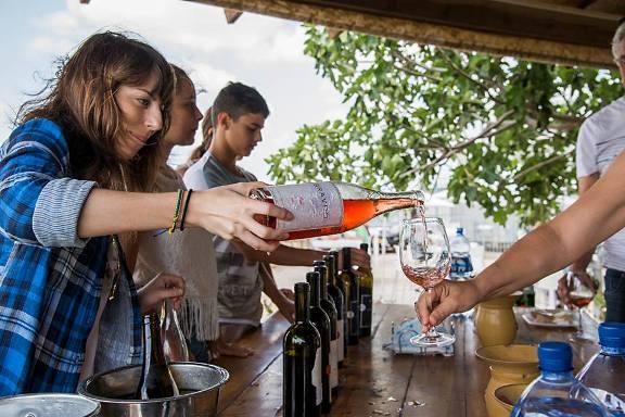Wine Tours Israel winetasting at Karmei Yosef Winery in the Judean Hills