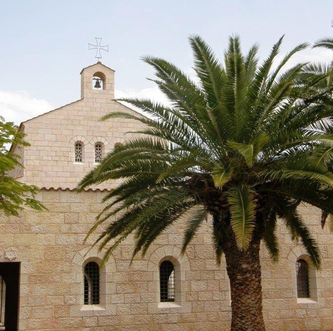 Tabgha Church near the Sea of Galilee