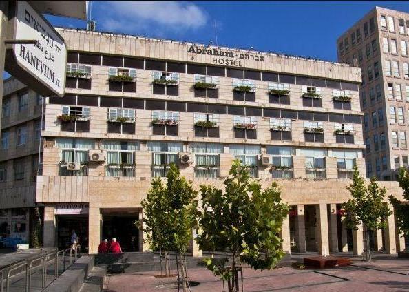 Abraham Hostel building in Jerusalem
