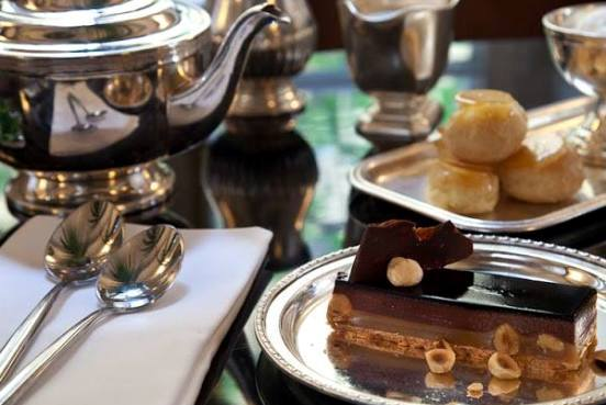 afternoon tea every Saturday at Montefiore Restaurant in Tel Aviv
