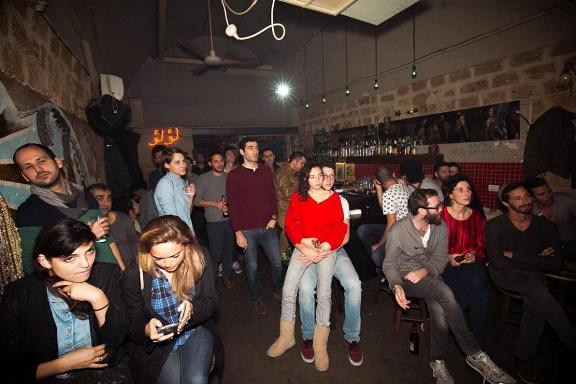Anna Loulou is a funky Arab-Jewish bar in Jaffa