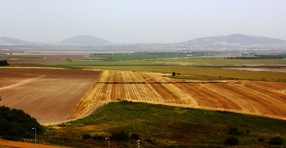 Jezreel Valley, also known as the  Valley of Armageddon