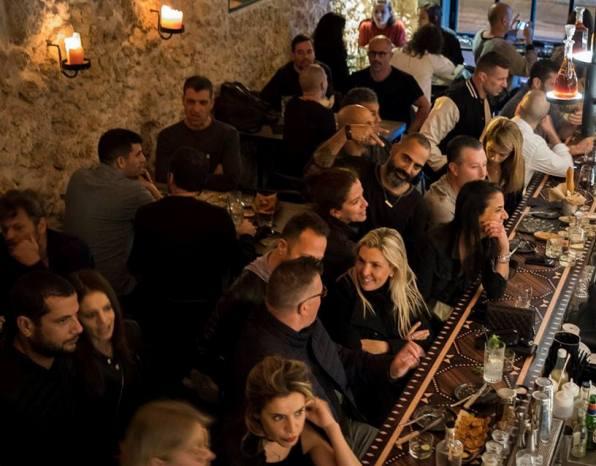Leyla Tel Aviv Bar near the Yemenite Orchard neighborhood (Kerem HaTeimanim)