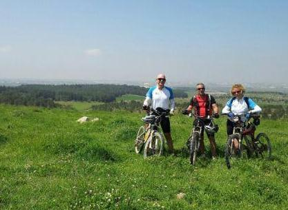 bicycles and bicycling in israel wine-tasting tour