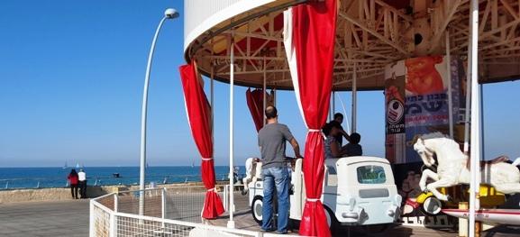Namal Tel Aviv Merry-Go-Round Carousel for Kids