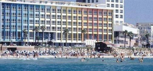 the luxurious dan tel aviv hotel view from the sea