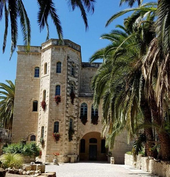 Benedictine Monastery St. Mary in Abu Ghosh near Jerusalem