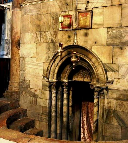 nativity cave in bethlehem