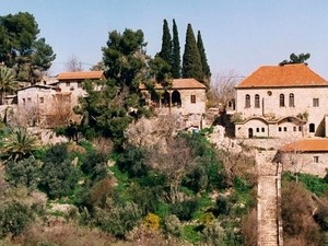 Cities in the green Galilee in northern Israel