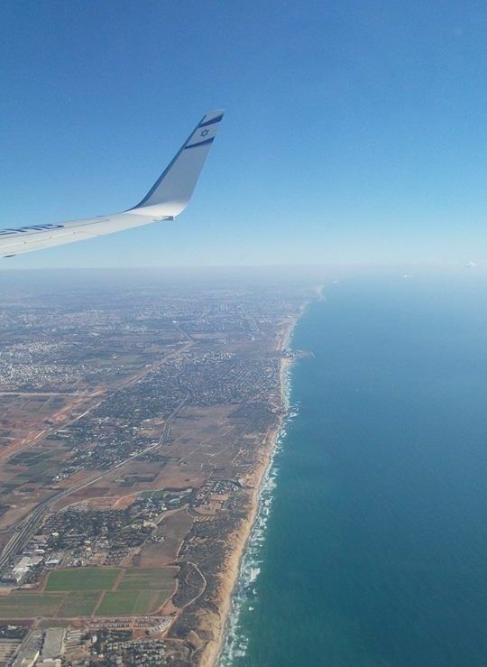 Flying in and out of Tel Aviv Airport