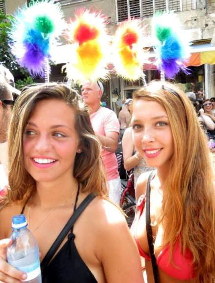 gay israel annual love parade