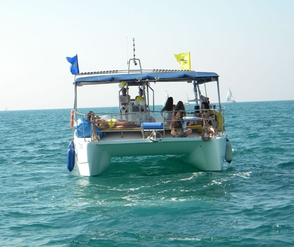 Catamaran excursion in Tel Aviv for up to 14 people