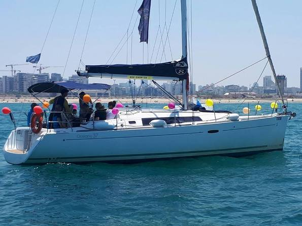 Tel Aviv excursions on Rosa - a Sailing Yacht for couples and up to 11 people