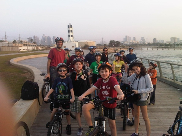 private biking tours in tel aviv are a great option for kids and adults alike