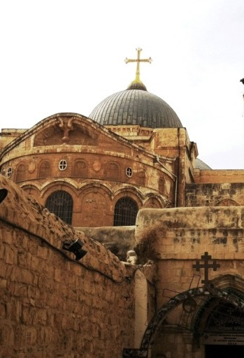 holy sepulchre church in Jerusalem