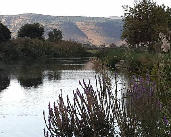 The Hula Valley in the north of Israel