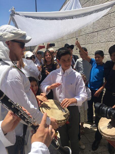 Bar Mitzvah Event in Jerusalem