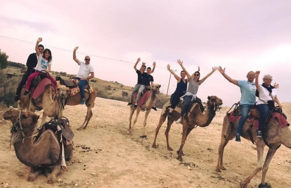 planning fun activities in Israel such as camel trekking