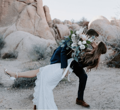 Israel wedding in the desert. Event planning in off the beaten path locations