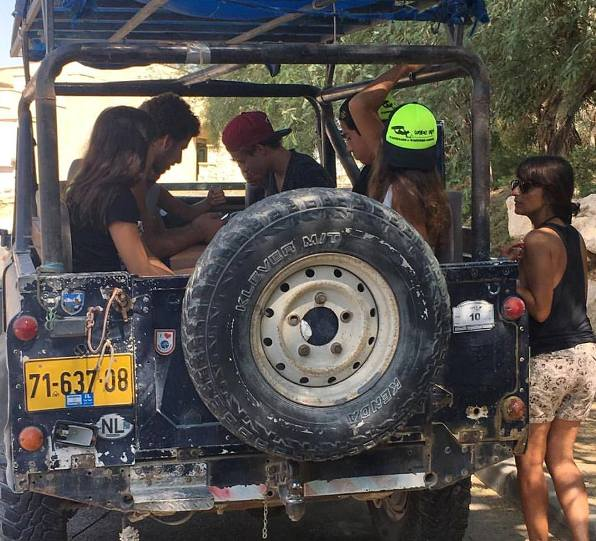 A desert Jeep Trip is a fun activity that can be planned for the family as part of a Bar or Mat Mitzvah journey in Israel