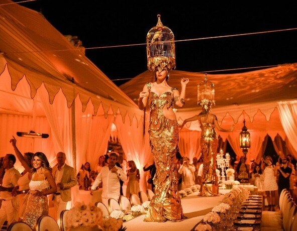 Unique events and decorations at go-telaviv israel event planning