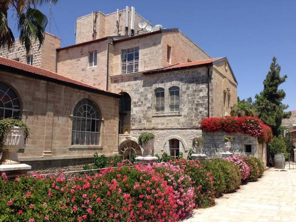 historic American Colony hotel in East Jerusalem