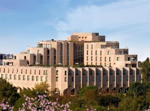 panoramic view of the Inbal Hotel in Jerusalem
