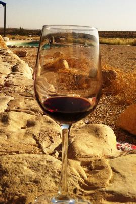 Drinking Israeli Wine in the Desert