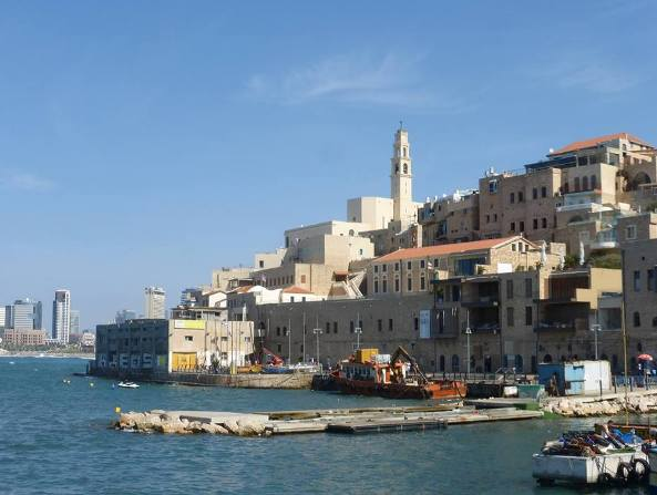 old Jaffa Port in Tel Aviv Israel