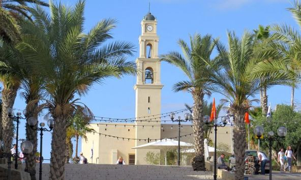 St. Nicholas Church Tower in Jaffa