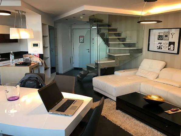 stunning duplex apartment suites at 21st Floor Boutique Hotel in Jerusalem