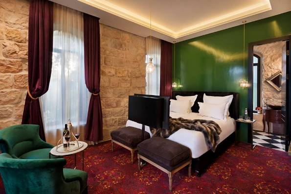 room at the Villa Brown boutique hotel in Jerusalem