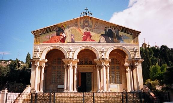 Jerusalem Church of All Nations near the Garden of Gethsemane