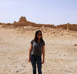 Joanne Ho on GoTelAviv Masada Tour with Levi