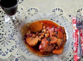 Regina Kosher Eating in Tel Aviv spicy morrocan fish stew