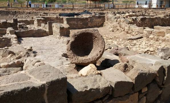 Magdala Migdal Israel remains of a Jewish city from the 1st century