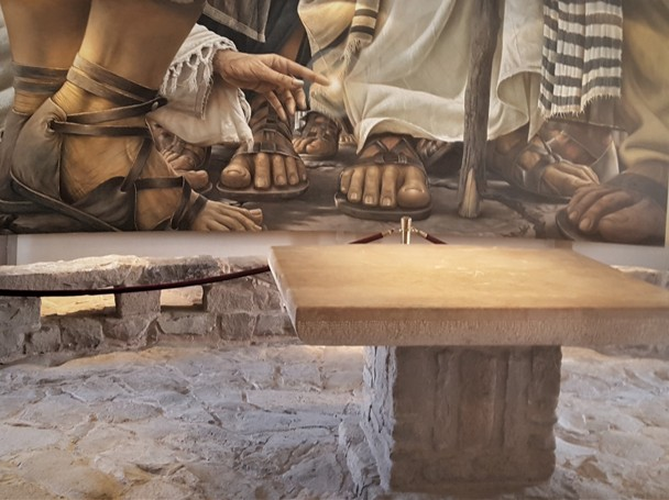 the Encounter Chapel in Magdala Migdal Israel