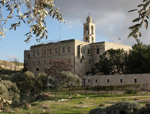 Mar Elias Monastery on the road to Bethlehem in south Jerusalem