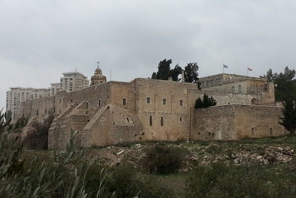 the Monastery of the Cross in Jerusalem looks like a fortress