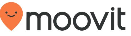 Moovit App for navigating public transportation in Israel