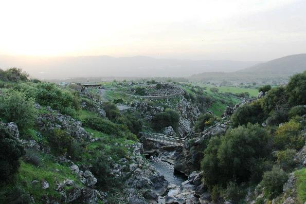 Mount Hermon in the Golan Heights in the far north of Israel